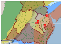 Chesapeake Bay Watersheds & Physiographic Provinces