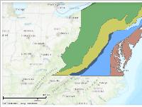 Chesapeake Physiographic Provinces