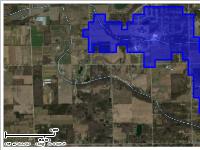 Drainage Basin of Sevey Drain