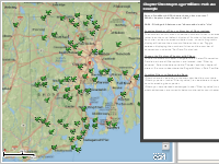 Chapter Sites Map: Roger Williams Park Zoo Example