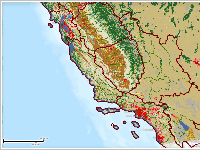 California Land Cover & Watersheds