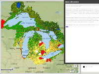 Areas of Concern and Land Cover
